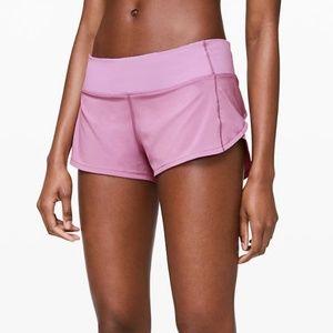 NWT, Lululemon Speed Up Jubilee Pink Shorts, 8